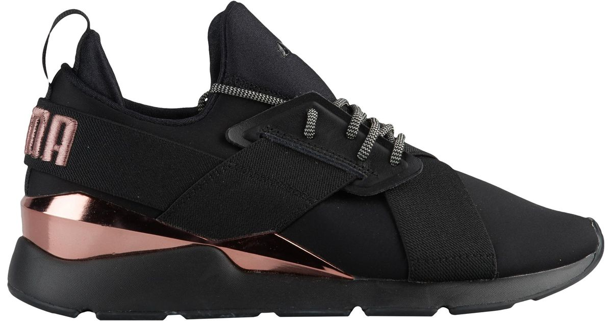 PUMA Rubber Muse Metal Running Shoes in