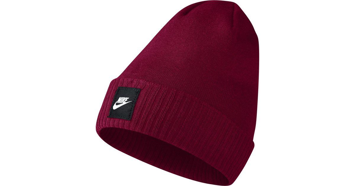 Nike Red Futura Beanie for men