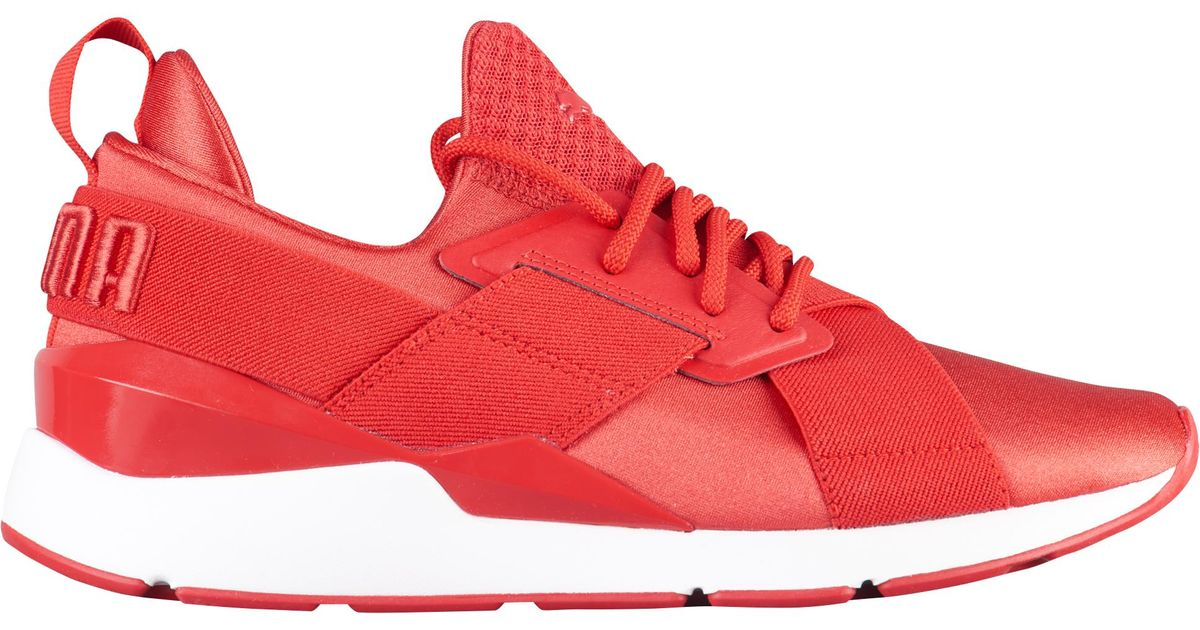 PUMA Red Muse Satin Ep Running Shoes