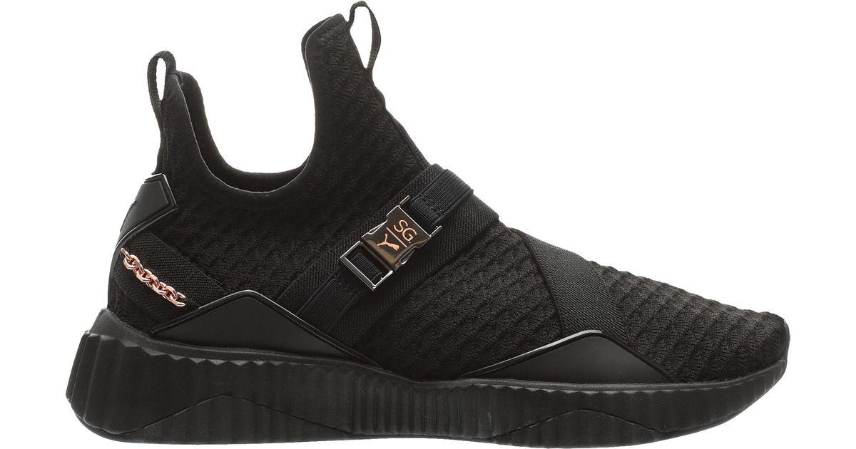 PUMA Rubber Defy Mid X Sg Running Shoes