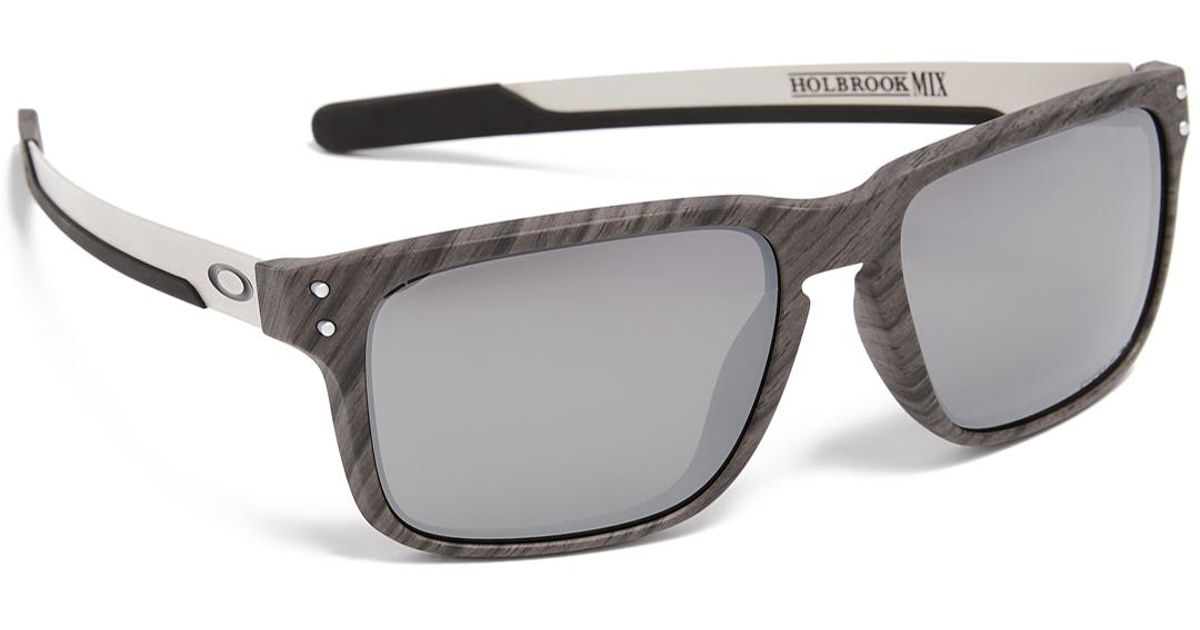 df64a2c6ab0 Oakley Holbrook Woodgrain Prizm Sunglasses in Metallic for Men - Lyst