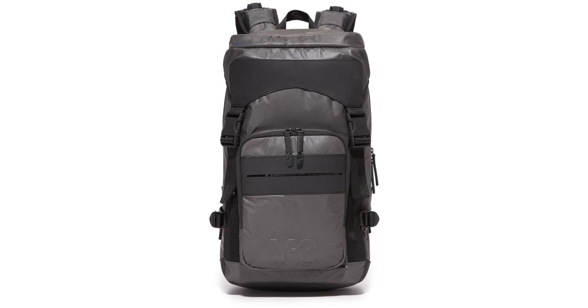 bfd8ab455ea4 Lyst - Y-3 Ultratech Backpack in Gray for Men