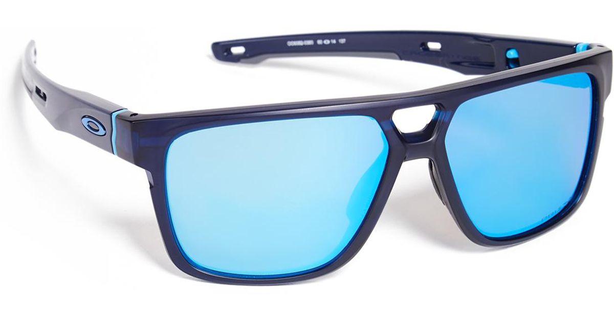 cc130d4c72 Oakley Crossrange Patch Prizm Sunglasses in Blue for Men - Lyst