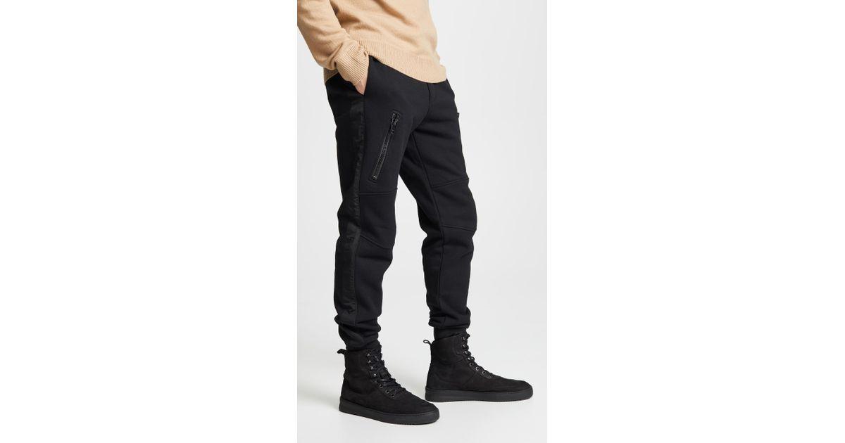 f6d586297ccc73 DIESEL Pants With Vertical Pocket in Black for Men - Lyst