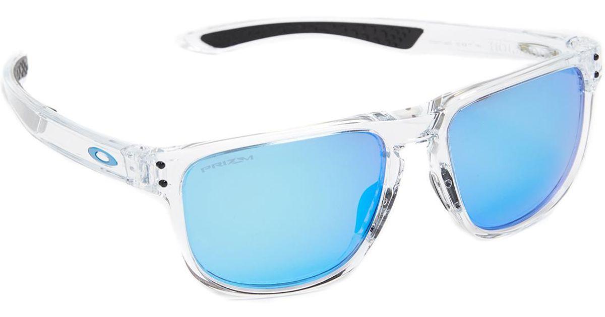 79c802f1965e8 ... spain lyst oakley holbrook prizm sunglasses in blue for men 5f3d8 9229b