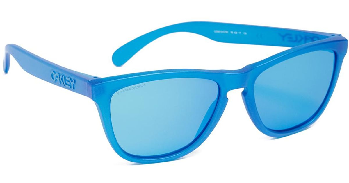60092aa486 ... switzerland lyst oakley frogskins prizm x ray sunglasses in blue for men  3bcb0 a0815