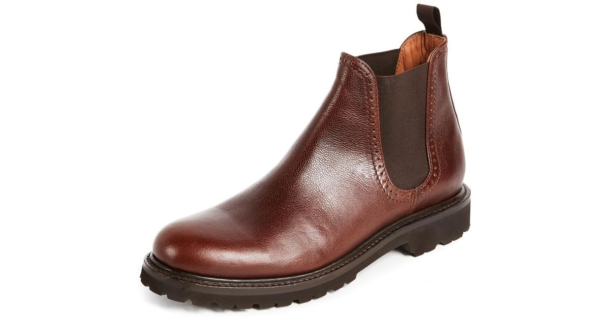 f2d93b3ebe9 Wolverine Brown Cromwell Chelsea Boots for men