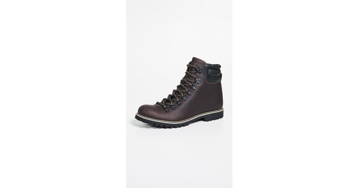 46645441c3d Wolverine Black Frontiersman Boots for men