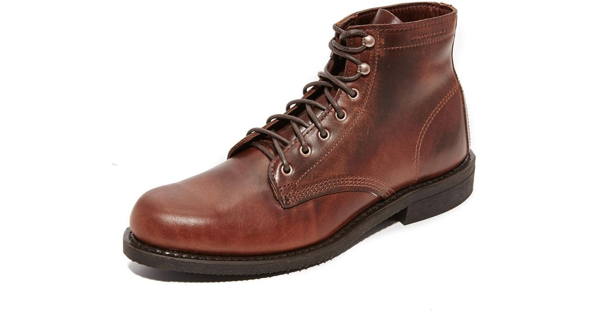 d80ae009f16 Wolverine Brown Kilometer Boots for men