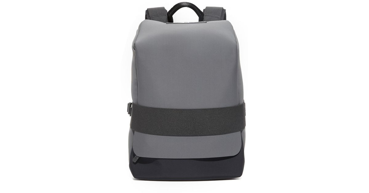 143833cf56b3 Y-3 Qasa Backpack Small in Gray for Men - Lyst