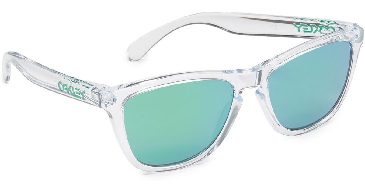 ecef2a7b59d Oakley Frogskins Crystal Sunglasses in Green for Men - Lyst