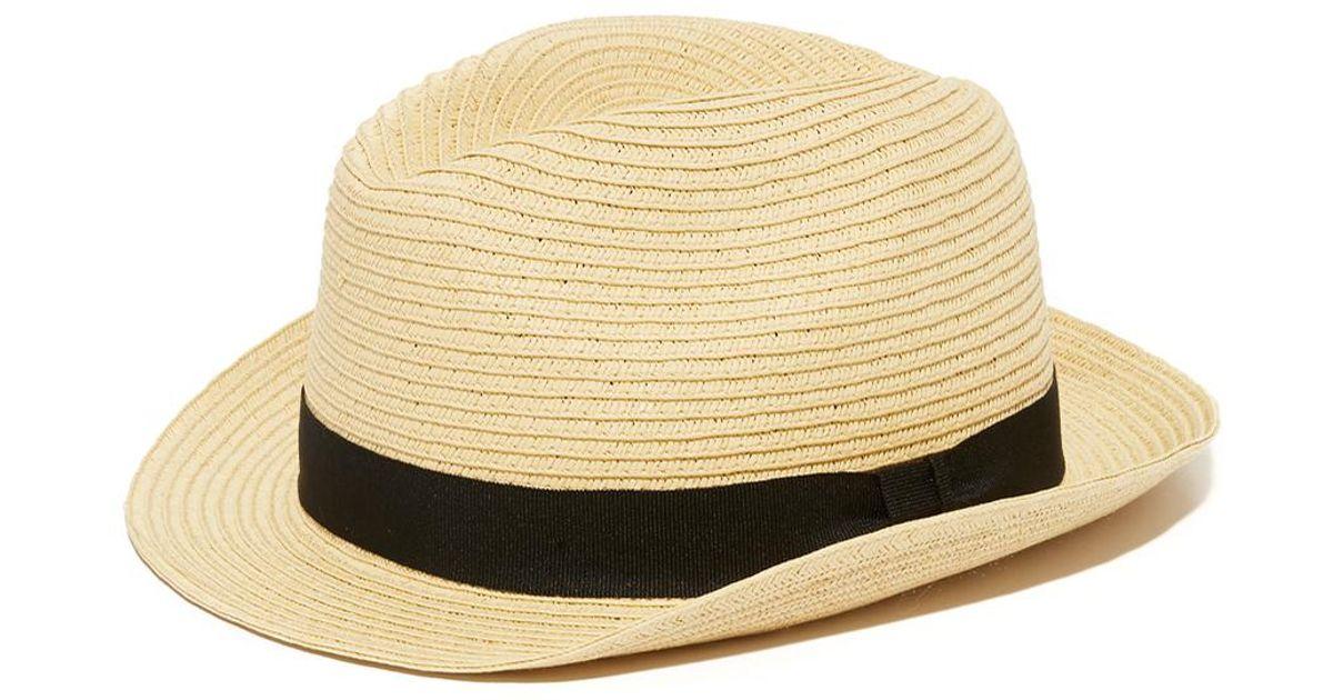 041e24b41b0d2 Lyst - Club Monaco Summer Fedora in Natural for Men