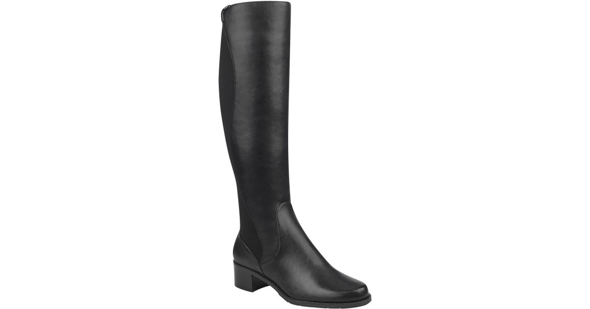 Easy Spirit Niah Leather Tall Boots in