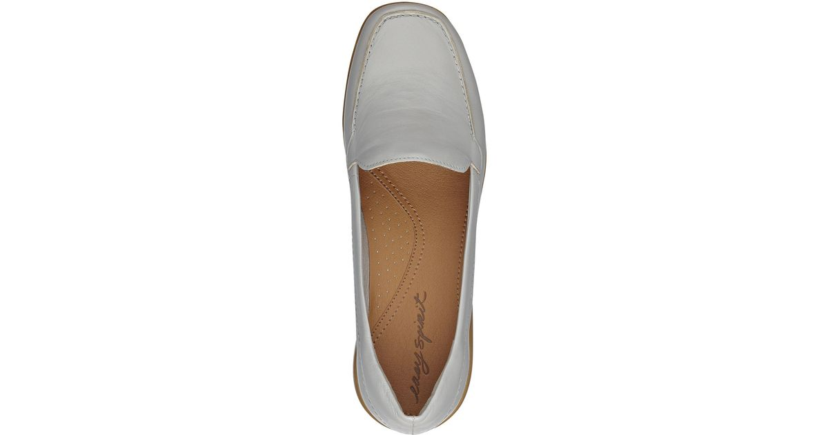 Easy Spirit Abide Leather Casual Flats