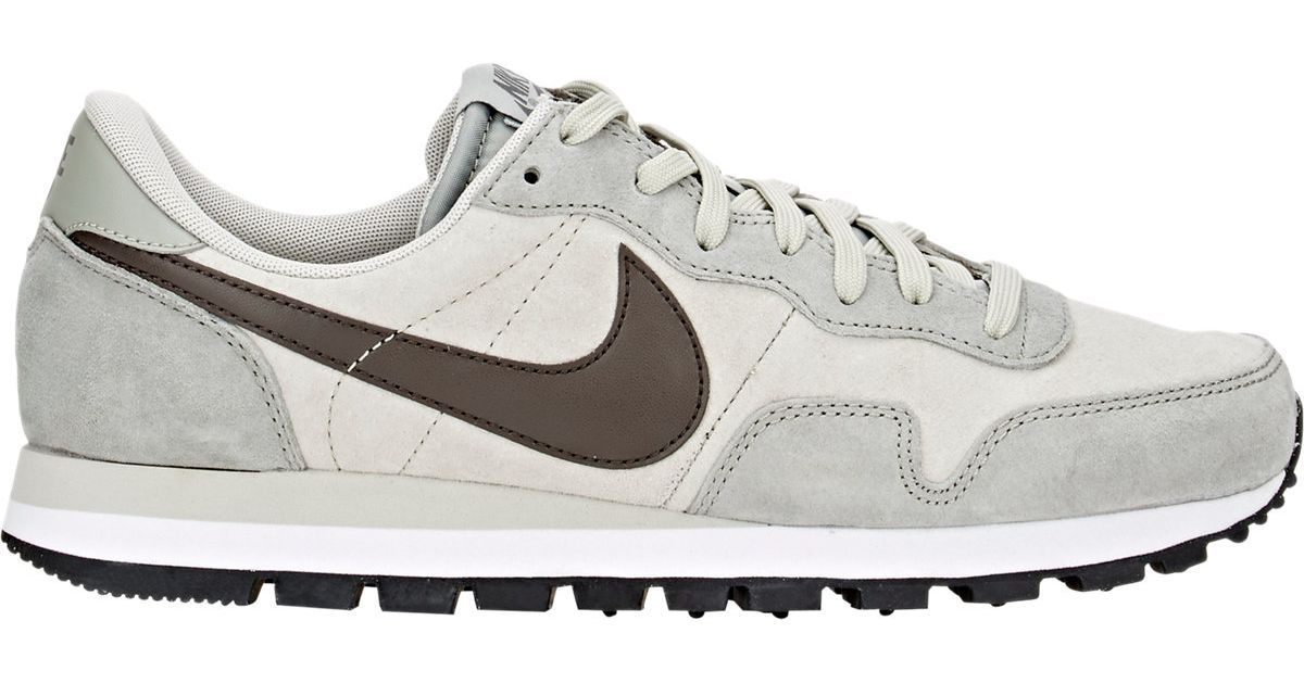 Nike Gray Air Pegasus 83 Leather Sneakers for men