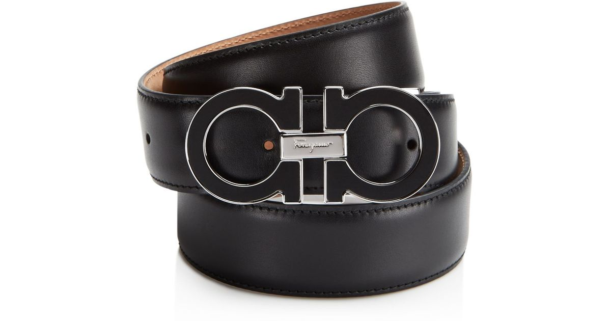 033a17fd259c5 ... where can i buy lyst ferragamo wood gancini belt in black for men b1421  c4522