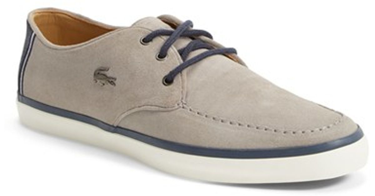 LACOSTE Sevrin suede trainers Navy - F3461