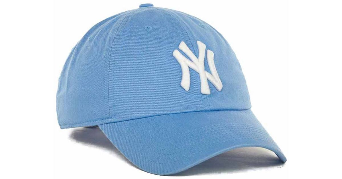 Lyst - Nike Women s New York Yankees Stadium Cap in Blue c91b332fdcd