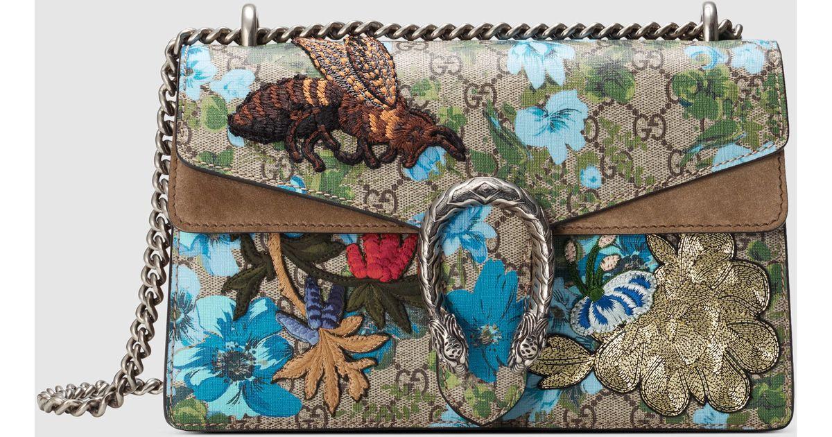 e22be1d920d Lyst - Gucci Dionysus Gg Supreme Canvas Shoulder Bag