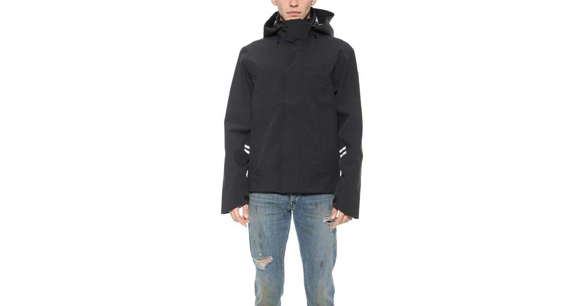 8d162d58c26 Canada Goose Black Ridge Shell Jacket for men