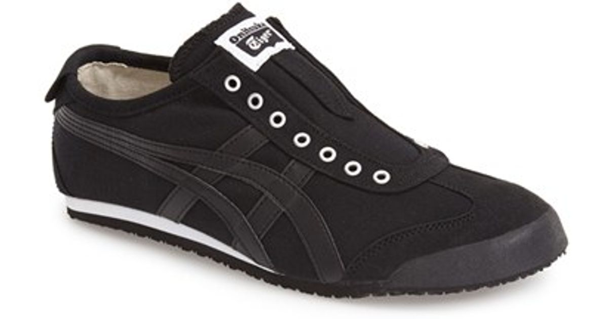 7f4cffc7f9 Onitsuka Tiger Black 'mexico 66' Slip-on Sneaker for men
