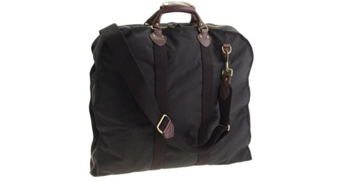 J Crew Black Garment Bag For Men