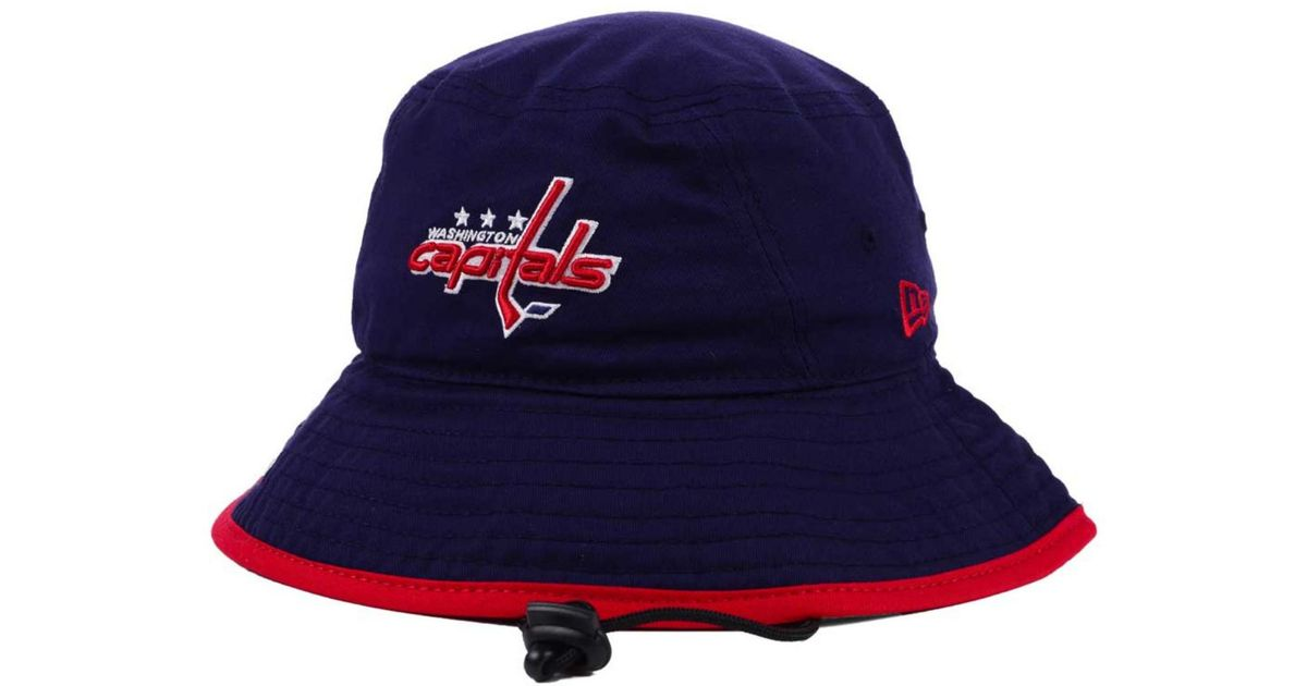 best sneakers c54f6 95015 KTZ Washington Capitals Basic Tipped Bucket Hat in Blue for Men - Lyst