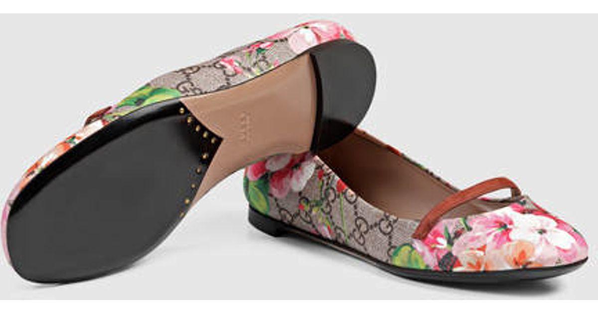 gucci bloom flats cheap online