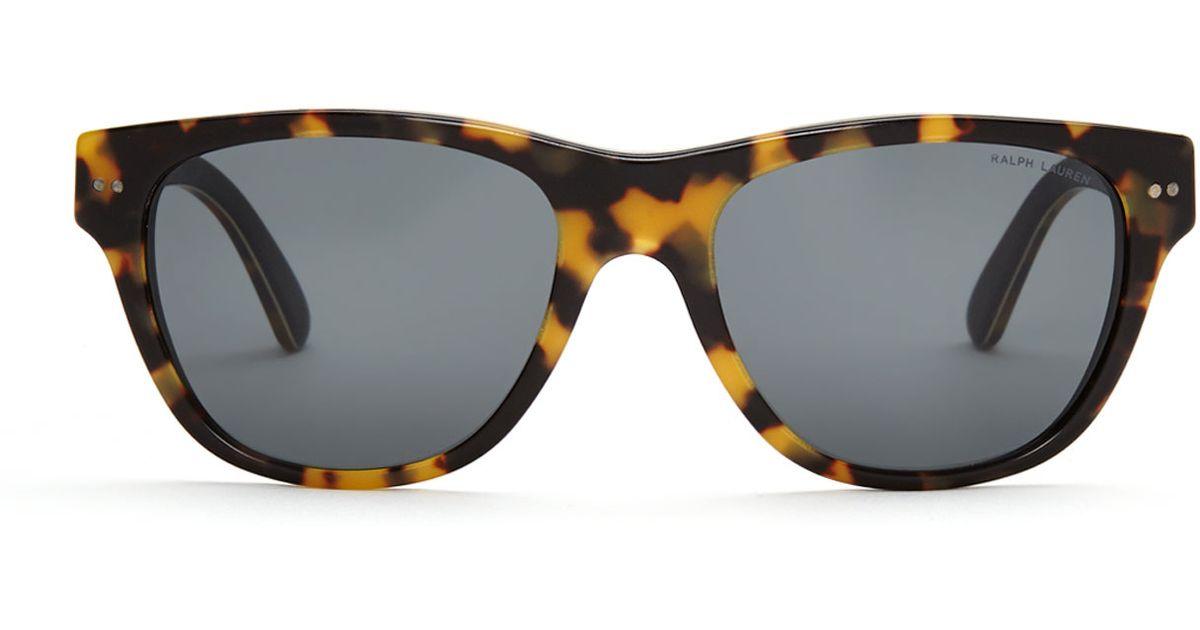 042587d0ba Lyst - Ralph Lauren Ph 4080 Tortoiseshell-Look Wayfarer Sunglasses in Brown  for Men