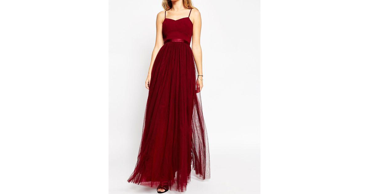 3aa23c35820 Needle   Thread Giselle Ballet Maxi Dress With Tulle Skirt in Purple - Lyst