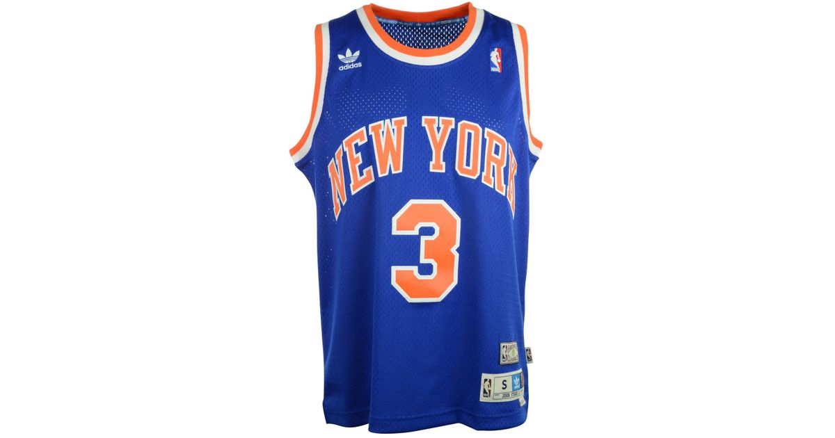 huge selection of 73928 e2790 Adidas Blue John Starks New York Knicks Swingman Jersey for men