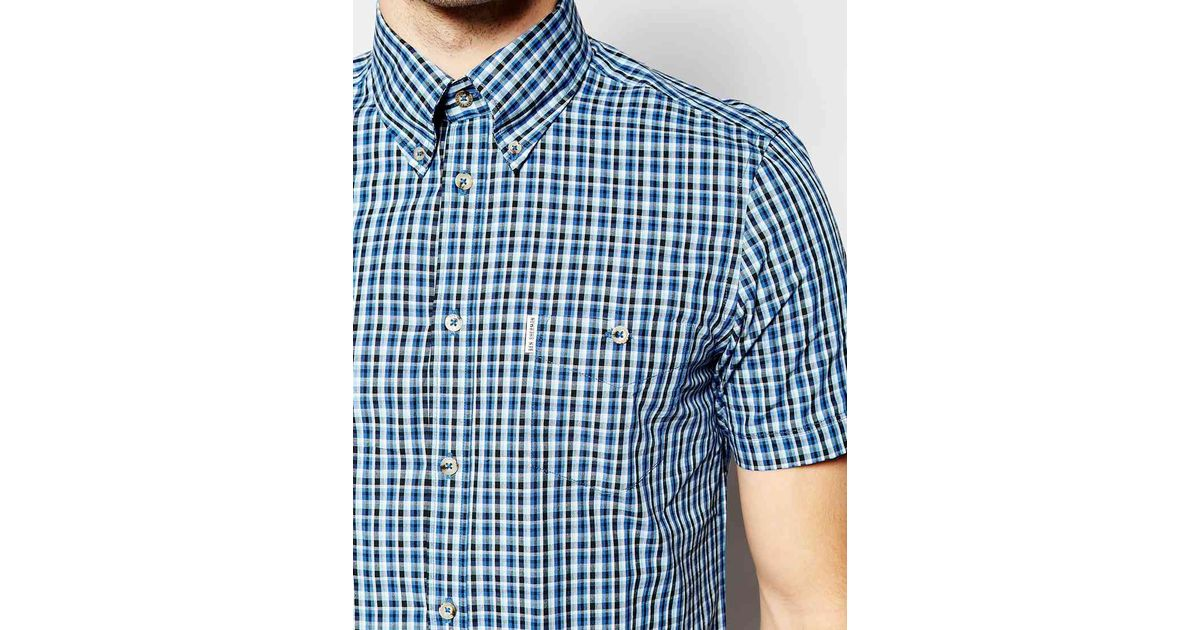 Ben Sherman Check Short Sleeve Shirt