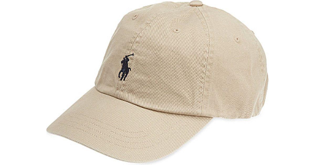 793aa63983 Polo Ralph Lauren Natural Classic Pony Baseball Cap for men