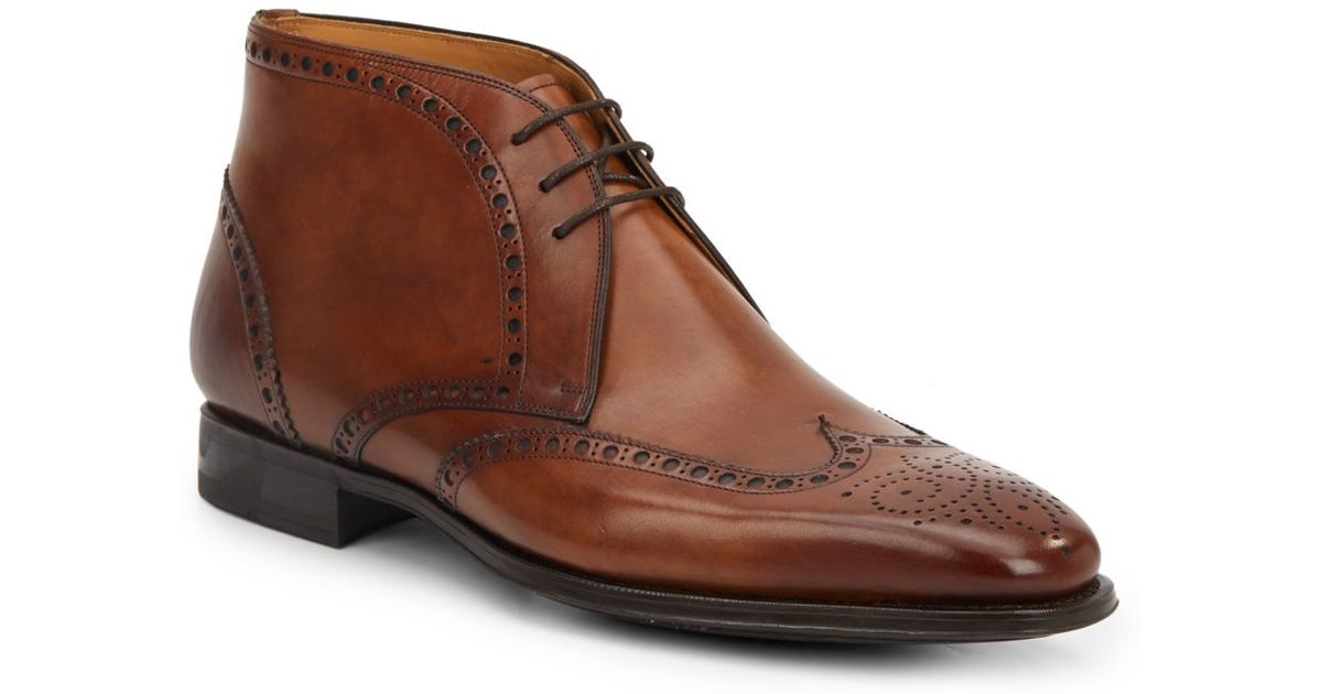 Brown Leather Work Shoes Women