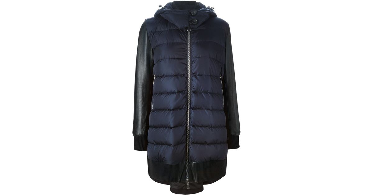 7c7b3b04e Lyst - Moncler  blois  Padded Jacket in Blue