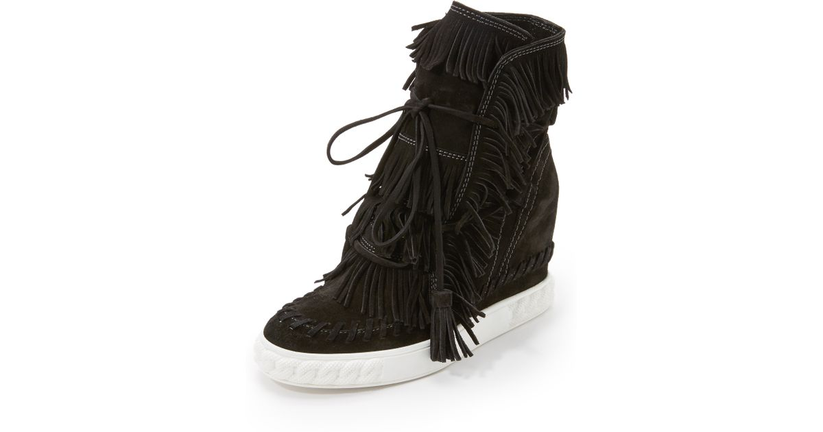 sneaker booties black