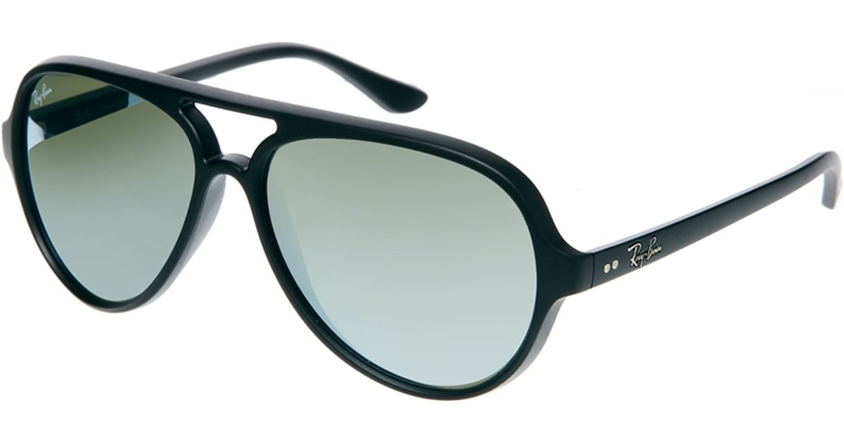 52650c0a579dc Ray-Ban Cats 5000 Aviator Sunglasses in Black for Men - Lyst