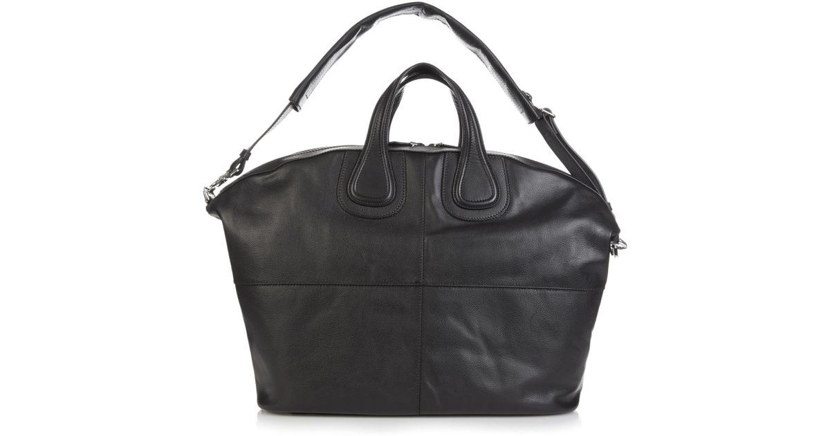 c1c52b966f Givenchy Nightingale Leather Weekend Bag in Black for Men - Lyst