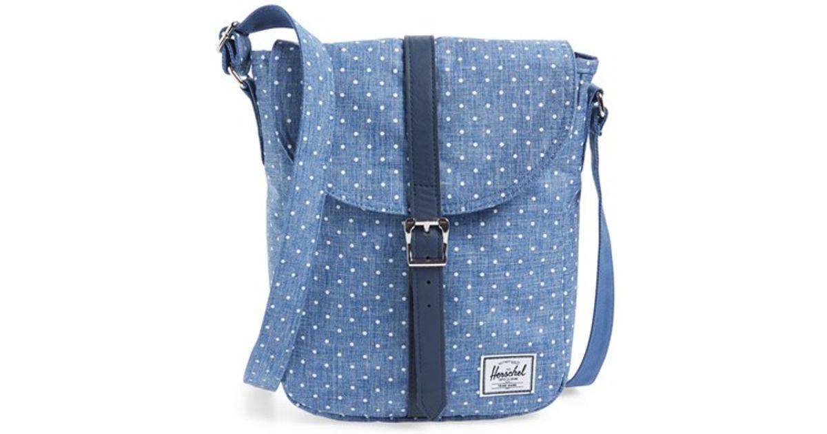 Lyst - Herschel Supply Co.  kingsgate  Crossbody Bag in Blue 7fda6a877f394