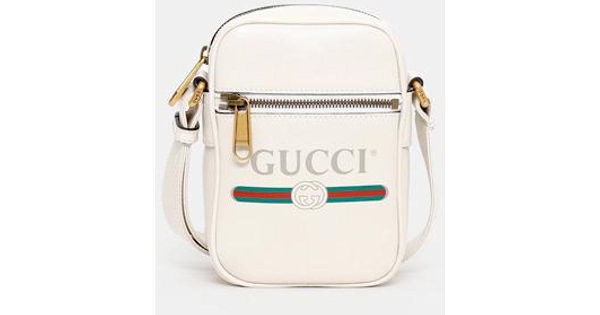 Gucci White Men\u0027s Crossbody Bag