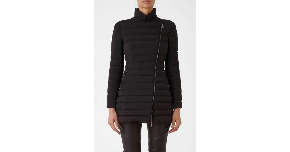 Moncler Anastasia Coat in Multicolour (BLACK)