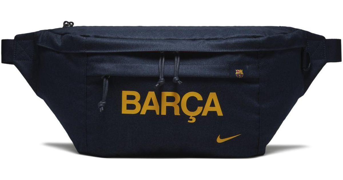 b15f83a11d72 Nike Blue Fc Barcelona Stadium Tech Bum Bag for men