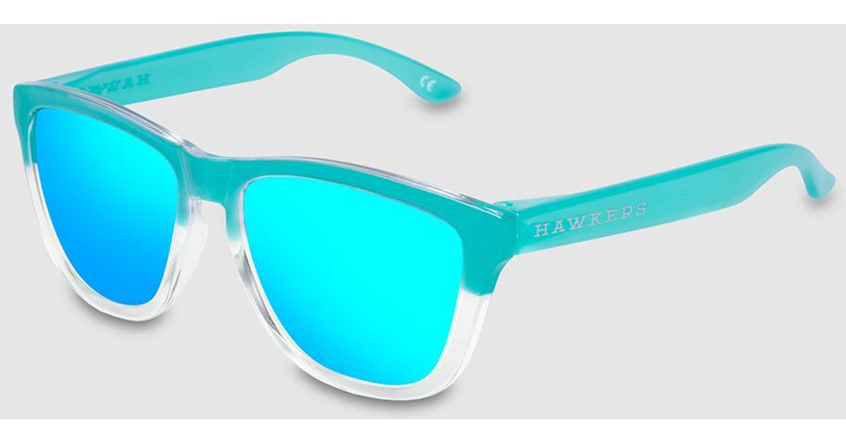 Lyst - Hawkers Unisex Aviator Sunglasses With Stainless Steel Frames in  Blue for Men 2475bb80f3