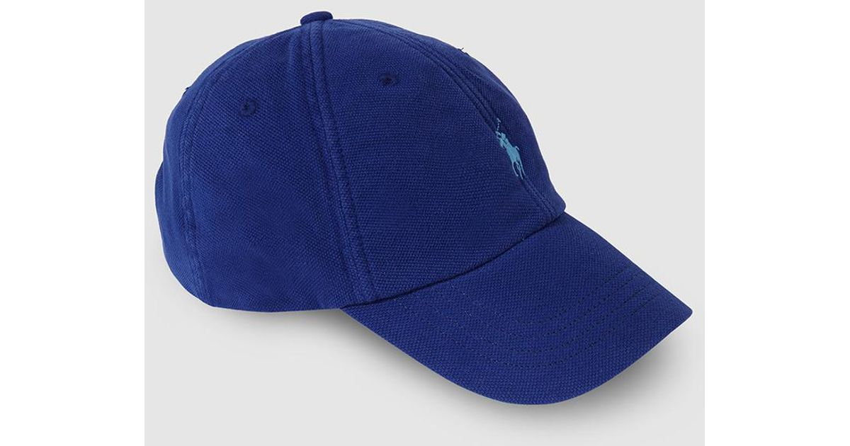 1cc0c9203afe19 Polo Ralph Lauren Mens Royal Blue Cotton Baseball Cap in Blue for Men - Lyst