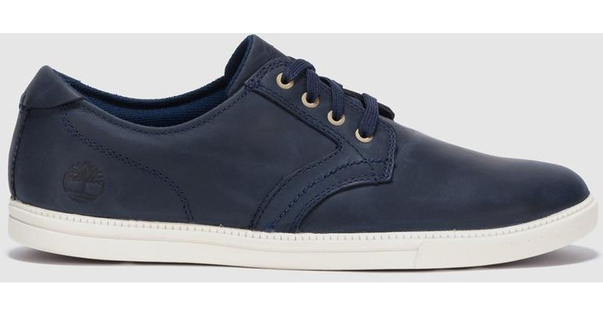 timberland leather trainers