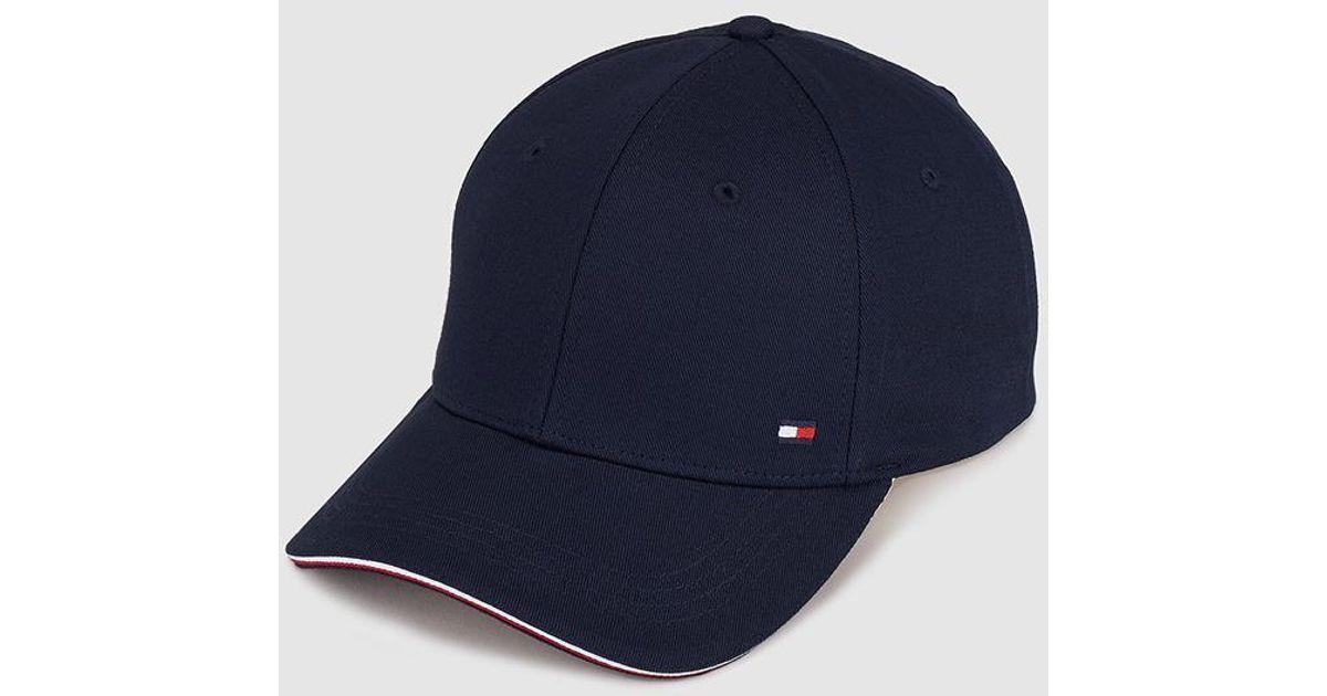 Lyst - Tommy Hilfiger Mens Classic Navy Blue Cap in Blue for Men a9beb451d1b