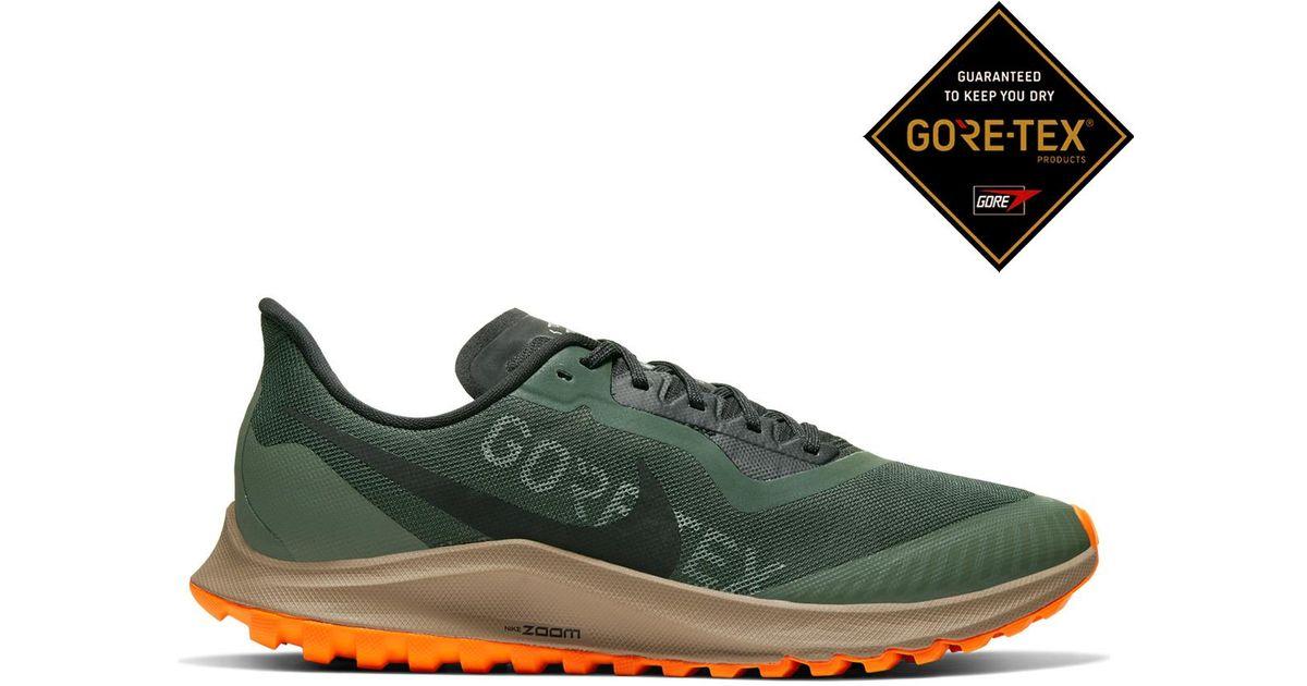 nueva precios más bajos venta de descuento mejor sitio Nike Zoom Pegasus 36 Trail Gore-tex Trail Running Shoes in Green ...