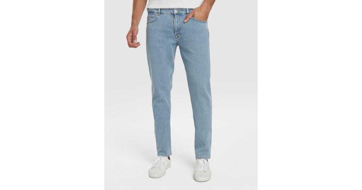 1868d8f3 Lacoste Slim-fit Blue Jeans for men