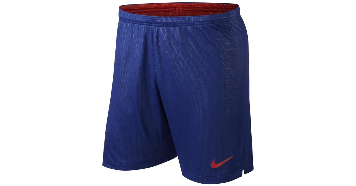 0138ad31bbb4 Nike Atlético De Madrid 2018-2019 Breathe Stadium Home Strip Shorts in Blue  for Men - Lyst