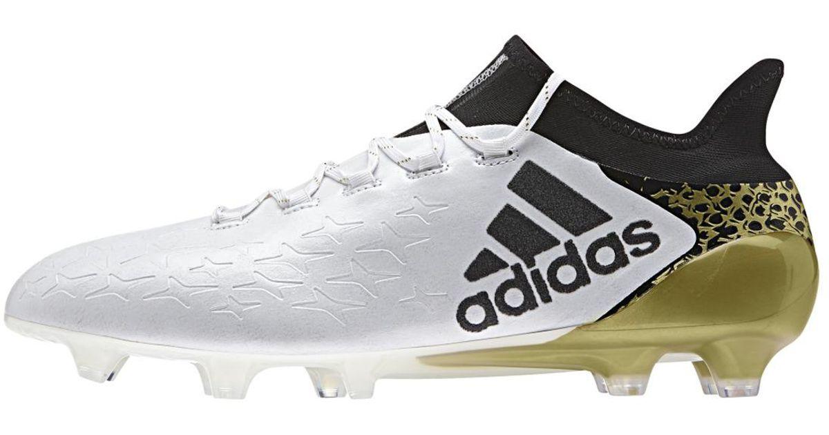 c373904dbd7 free shipping lyst adidas originals x 16.1 fg football boots in white for  men 2c0ec f3145